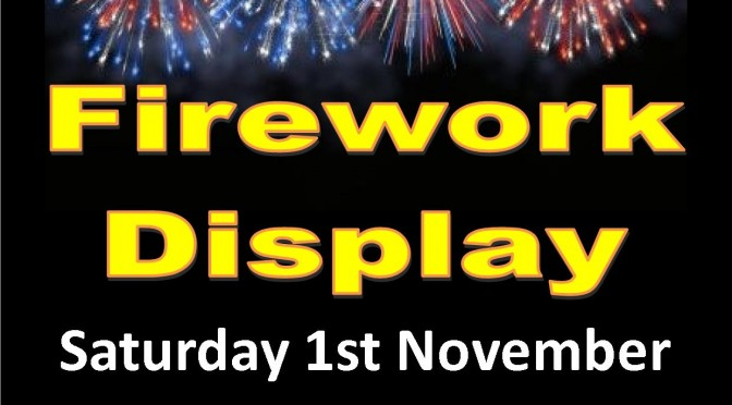 Caterham Round Table Annual Bonfire and Fireworks display Saturday 1st November 2014