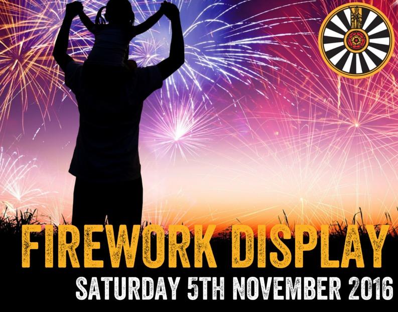 Caterham fireworks